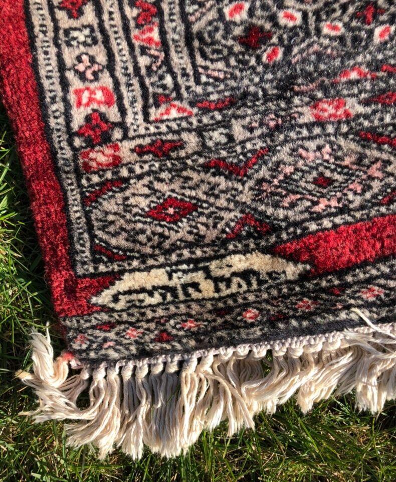 Gulvtæppe, ægte tæppe, b: 92 l: 150