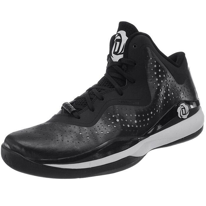 Adidas D D D Rosa 773 III Herren Basketballschuhe schwarz weiß Basketballstiefel NEU 6fcf3e
