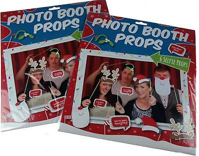 Set Of 12 Christmas Fun Selfie And Photo Booth Props Ideaal Cadeau Voor Alle Gelegenheden