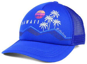 Billabong-Hawaii-Surfing-Snapback-Adjustable-Hat-Cap-Trucker-Mesh-HI-808-Aloha