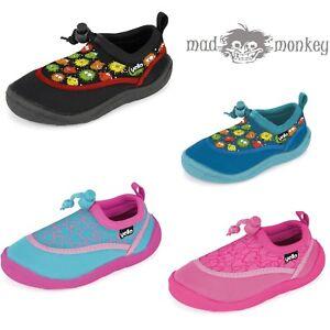 3b9514a97d76fd JUNIOR GROMS AQUA SHOES - toddler kids boys girls beach blue pink ...