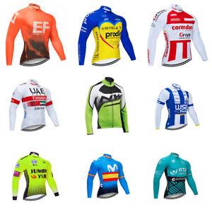 Men-Cycling-Jersey-Suit-Racing-Sport-Kit-Windproof-Jacket-Long-Sleeve-Bike-Shirt