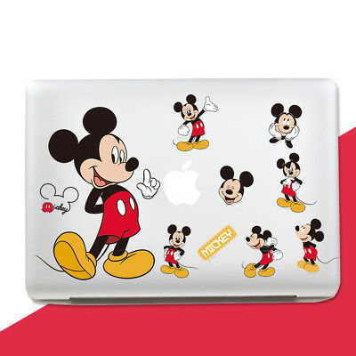 decal skin Wall Stickers Disney Minnie Mouse Laptop Sticker Mac