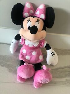 Disney Store Minnie Mouse Plush Doll Medium 18/""