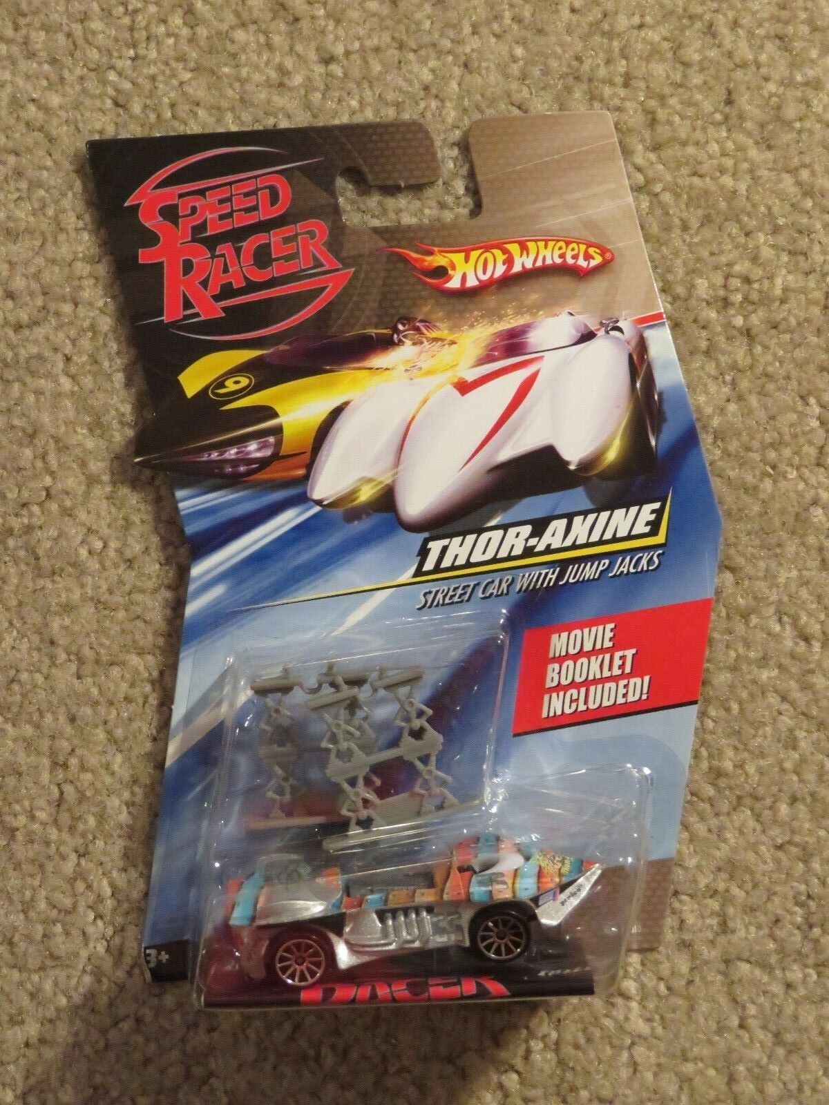 Hot Wheels Speed Racer Thor Axine 1 64 Scale MOC 2007