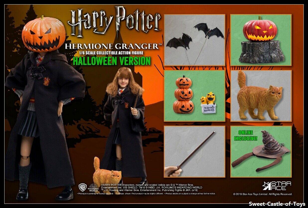 1 6 Star Ace Toys Harry Potter Sorcerer Stone Hermione Granger Halloween HW0003