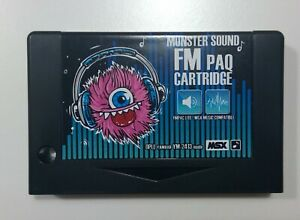 Monster Sound FM PAQ lite (MSX Sound Extension)