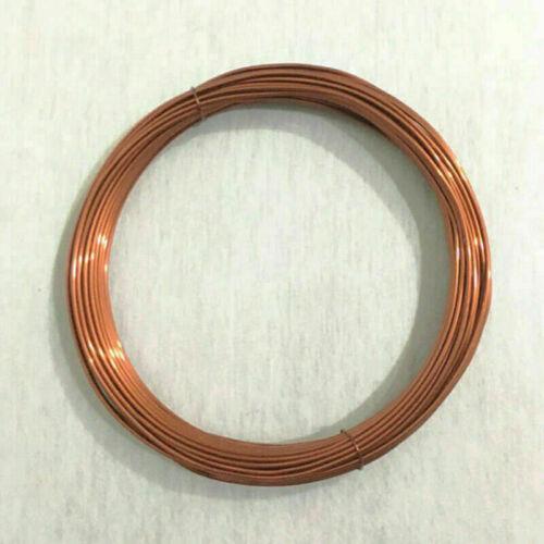 3-5mm Stärke Kupferdraht Spule Drahtwerk Tiara Basteln Schmuckherstellung
