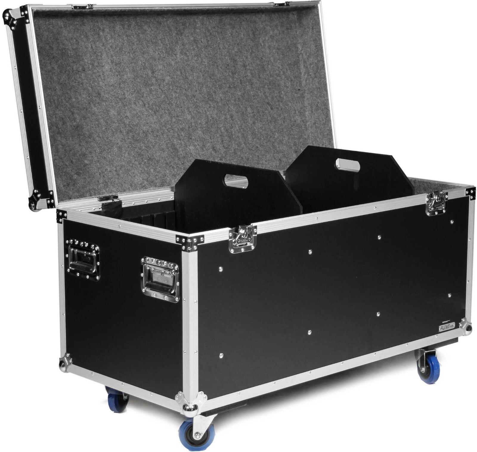 TEGO 120cm Universal Transportcase mit Rollen Flightcase Kabelcase Truhencase
