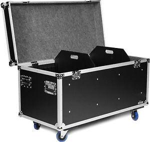 flyht 120cm universal transport case mit rollen lagerkiste kabelcase truhencase ebay. Black Bedroom Furniture Sets. Home Design Ideas