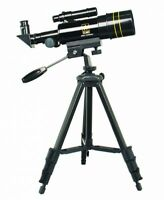 Refractor Telescope, Viewing Accessories Aluminum Durable Portable Black on sale