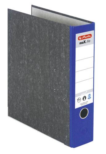 Herlitz maX.file nature Ordner 8,0 cm blau