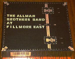allman brothers live at the fillmore east mfsl gold 2 cd box set sealed. Black Bedroom Furniture Sets. Home Design Ideas