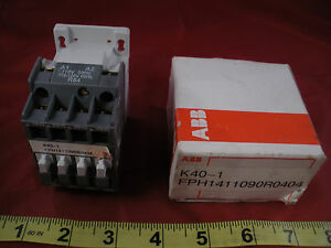 USED ABB N40E Relay Contactor