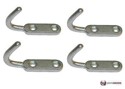 10 x Small Tailboard Rope Hooks Heavy Duty Steel Tippers Trailers Truck Dropside