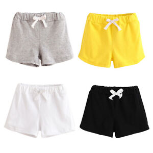 6b849d9dfc3 Image is loading Fashion-Summer-Children-Cotton-Shorts-Boys-And-Girl-