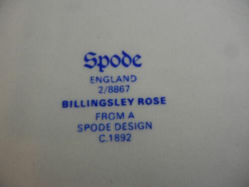 """Copeland Spode Billingsley Rose 10 1//4/"""" Oval Serving Bowl"""