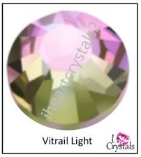 VITRAIL LIGHT Swarovski 20ss 5mm Crystal Flatback Rhinestones 2058 Xilion 72 pcs