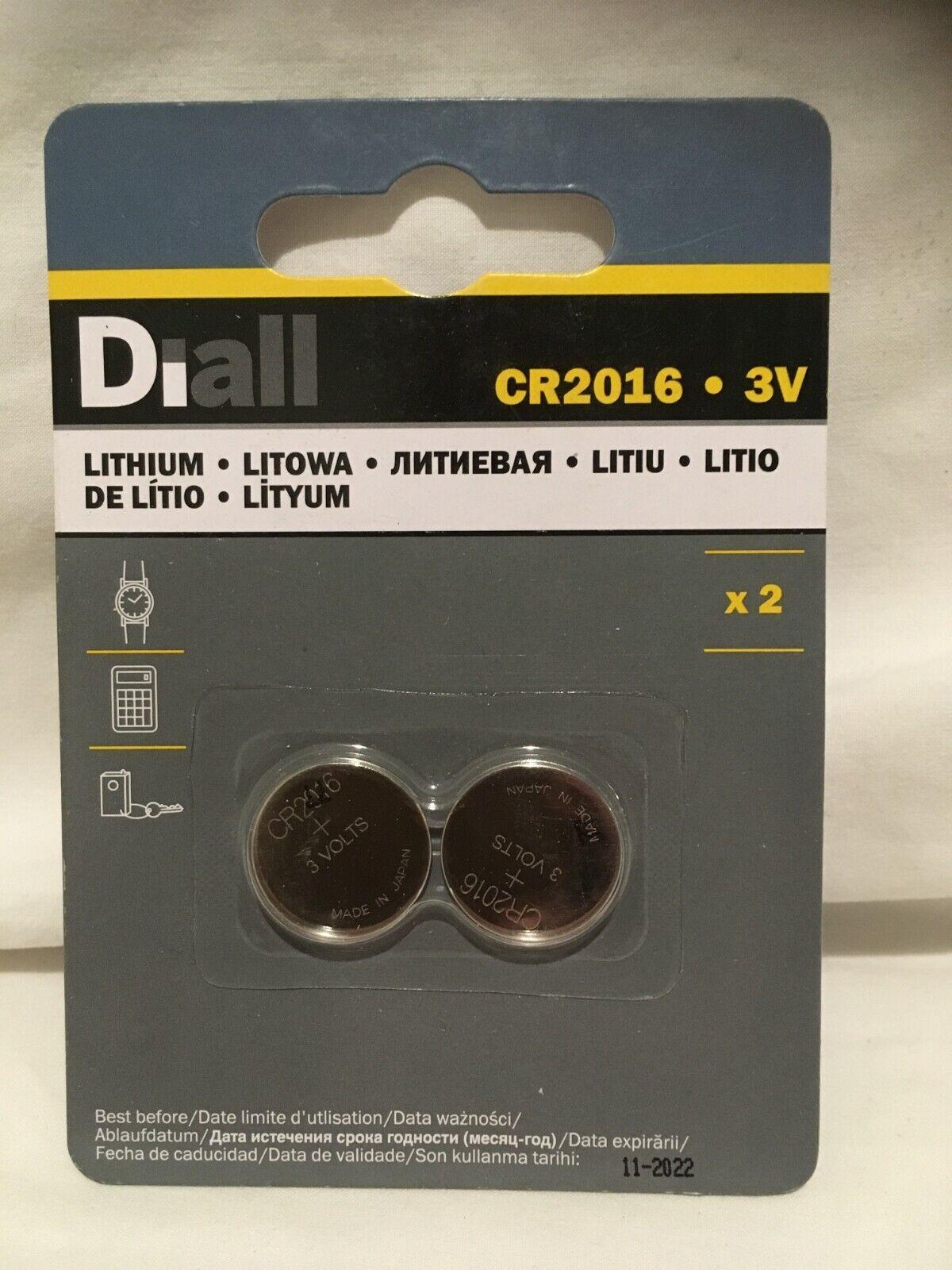 CR2016 lithium battery