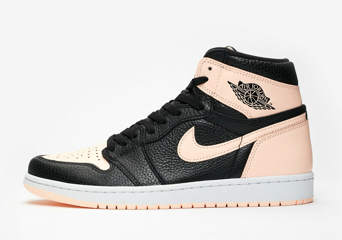2018 Nike Air Jordan 1 Retro High OG SZ 12 Black Crimson Tint White 555088-081