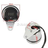 Universal Motorcycle Led Digital Display Digital Voltmeter Voltage Panel Meter