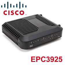 TOP! Cisco EPC3925 DOCSIS 3.0 4-Port Gigabit Wireless N Router Modem wie epc3212