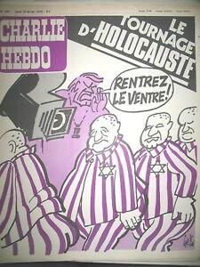 CHARLIE-HEBDO-N-431-HOLOCAUSTE-TOURNAGE-ITAN-KHOMEINY-GeBe-WOLINSKI-REISER-1979