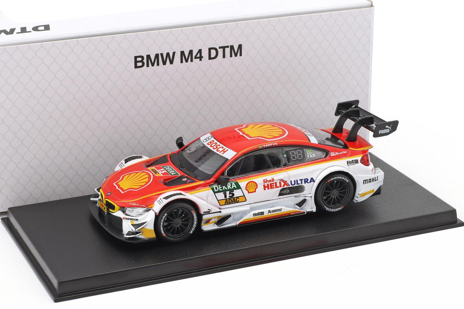 BMW m4 DTM  15 DTM 2017 Augusto Farfus BMW équipe marchandises 1 43 Herpa