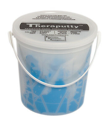CanDo Theraputty Exercise Material - 5 lb - bleu - Firm