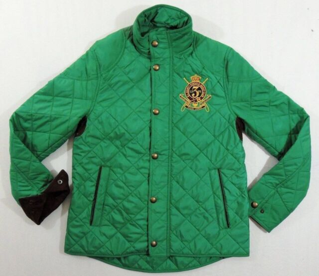 Women Ralph Lauren Equestrian Rider Jockey Club Crested Patch Quilted Jacket  S for sale online  4bd402dc9