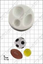 Silicone mould Sport balls | Food Use FPC Sugarcraft FREE UK shipping!