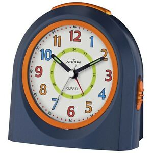 ATRIUM-Wecker-Kunststoff-Analog-Alarm-blau-orange-A921-5