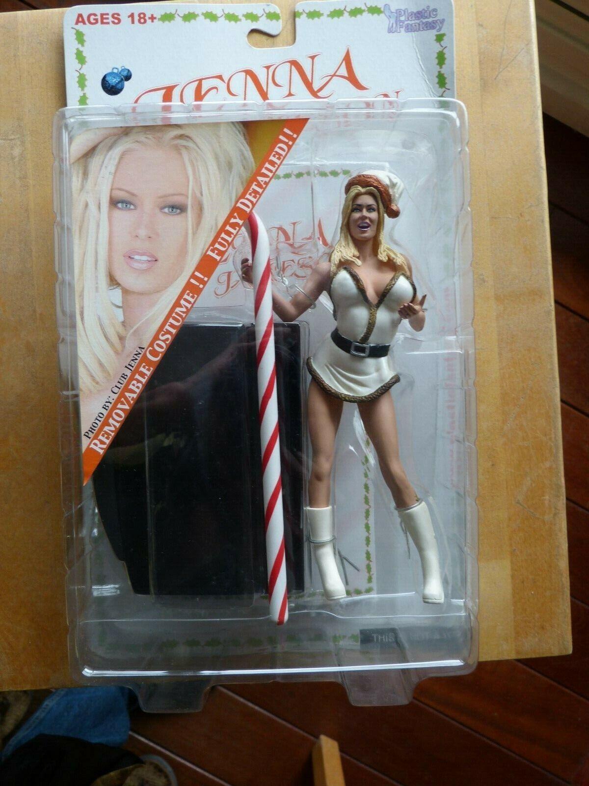 Adult Superstars figure JENNA JAMESON Weiß Santa Outfit Plastic Fantasy