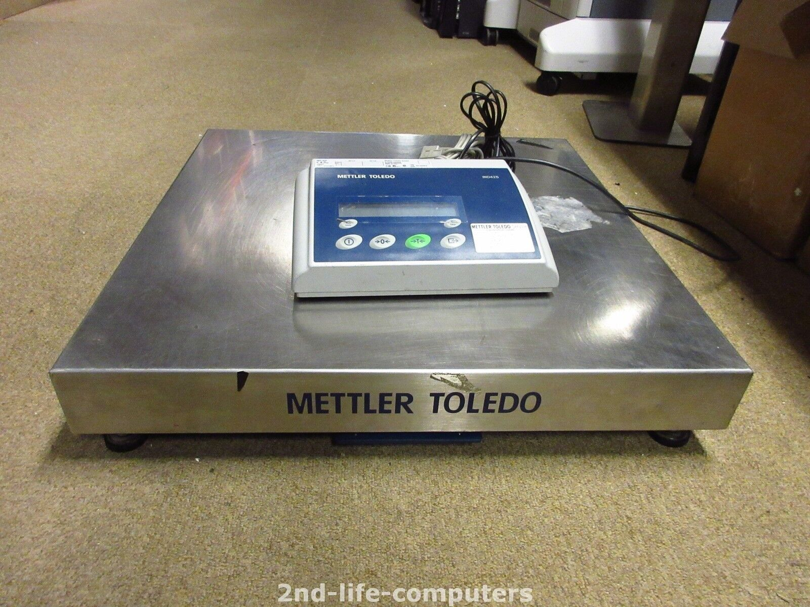 Mettler Toledo IND425 Balance Paquet Post Bilancia Weighing Basic Scala 60KG