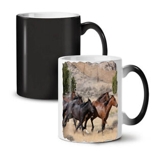 Wild Horse Freedom NEW Colour Changing Tea Coffee Mug 11 oz | Wellcoda