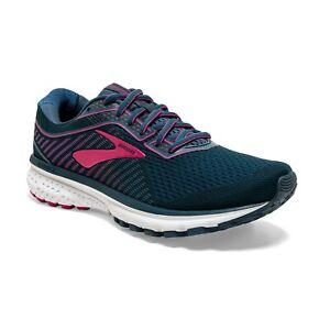 BROOKS-Women-039-s-Ghost-12-Scarpe-Running-Donna-Neutral-MAJOLICA-BLUE-120305-437