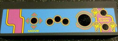 PERFECT! MS PACMAN multi game CPO Screen Printed with New Metal Panel