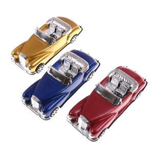 Auto-da-collezione-in-plastica-per-auto-retro-Vintage-Classic-Car-Model-Toys