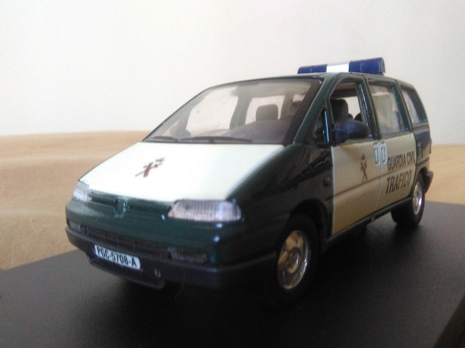 Antigua miniatura 1 43 Scale Carr PR042 Peugeot 806 Guardia Civil de Tráfico.