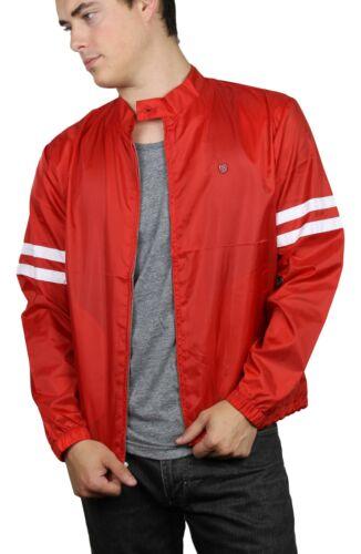 Brixton Mens Plex Jacket Red White M New