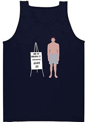 "V-NECK Ladies Tom Brady New England Patriots Super Bowl /""Draft Day/"" Shirt"