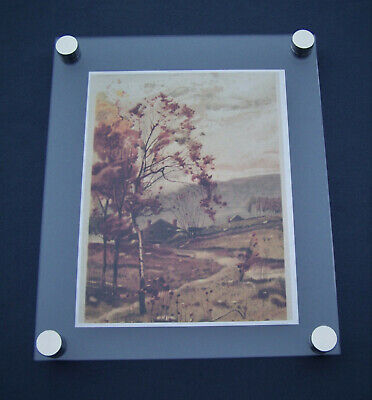 Acrylic Floating Frame Wall Mount A4 Picture Award 8.5 X 11