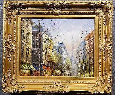 4-5-034-WIDE-Antique-Premium-Gold-Leaf-Ornate-Oil-Painting-Wood-Picture-Frame-780G