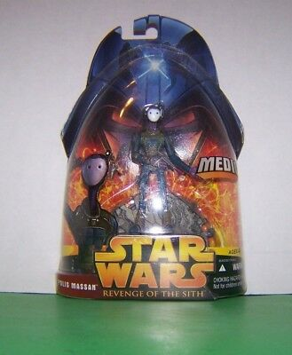 Revenge of the Sith Polis Massan Medic Action Figure Hasbro Star Wars