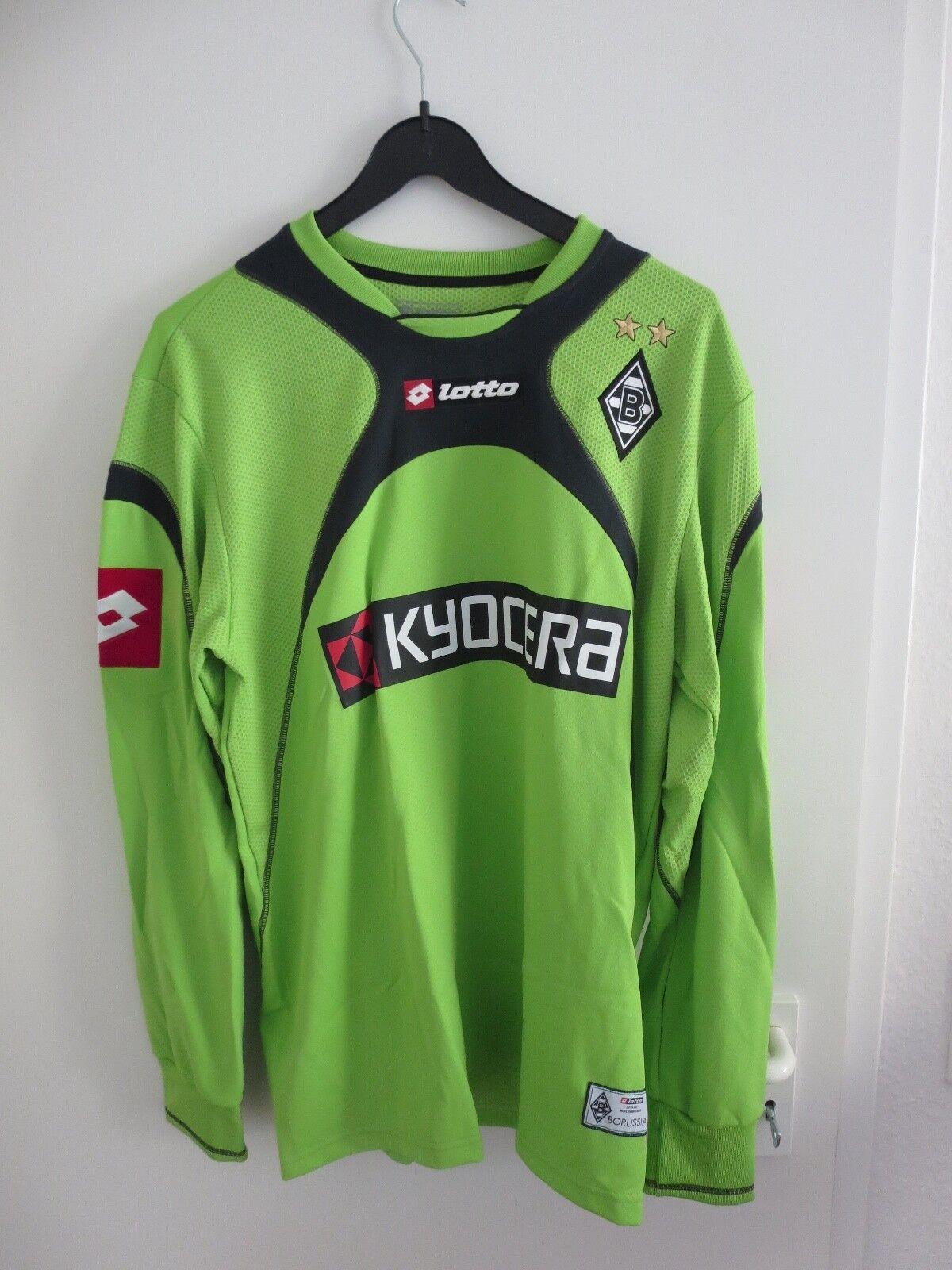 Trikot – Borussia Mönchengladbach – Logan Bailly – XL - Zustand sehr gut - Lotto