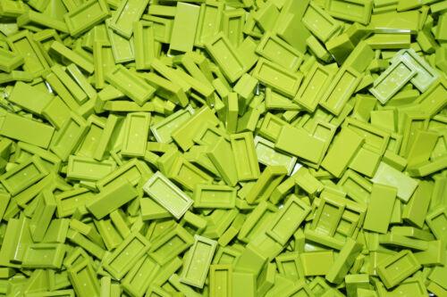 lego city,friends,elves LEGO BRICKS 100 x GREEN//LIME FLAT TILES 1 x 2 No 3069