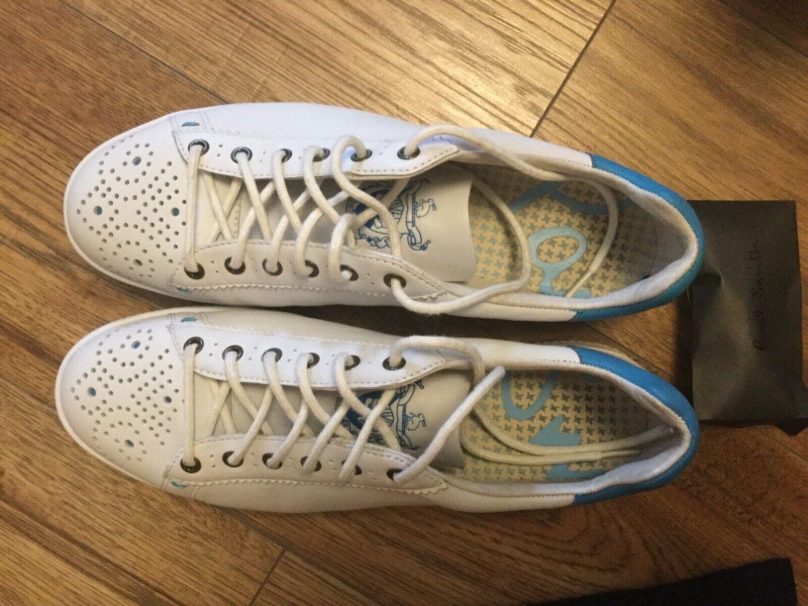 Zapatos deportivos fehombresinos pal Smith, talla 5uk, de una sola vez, de gran calidad.