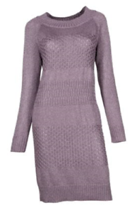 NEW Soybu Woherren Retreat Dress Honeycomb Knit Größe Large  Retail
