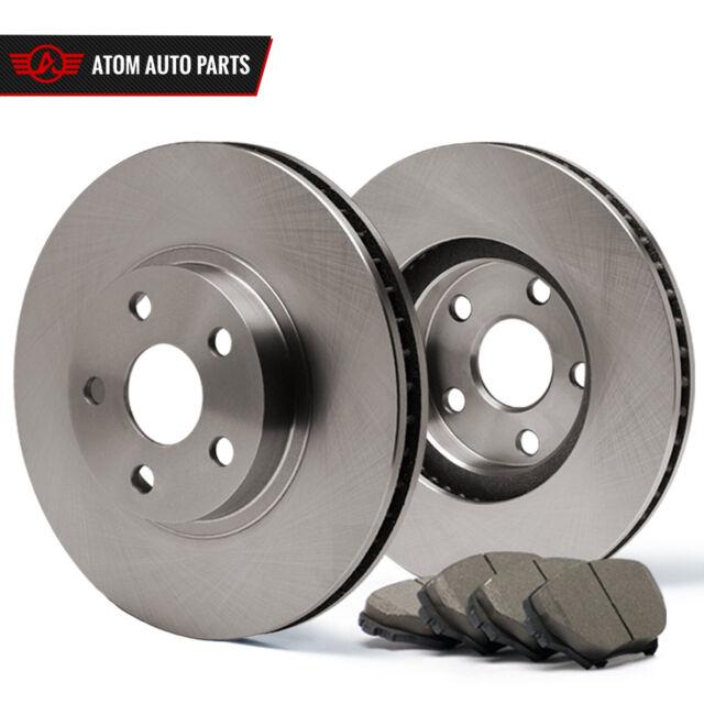 2003 Honda Accord Rear Disc (OE Replacement) Rotors Ceramic Pads R