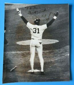 DAVE-WINFIELD-SIGNED-8X10-PHOTO-Light-Autograph-NY-YANKEES-100-GUARANTEE